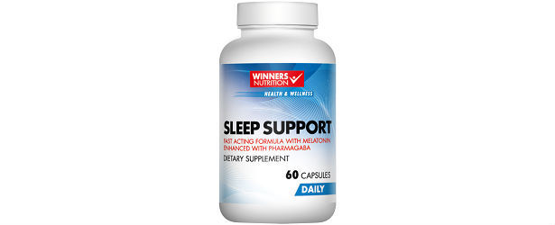Winners Nutrition Sleep Support Nutritional Supplement Review